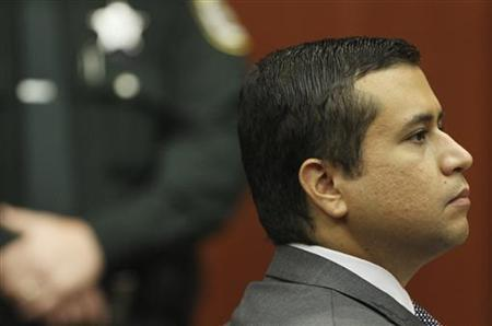 George Zimmerman appears for a bond hearing at the Seminole County Criminal Justice Center in Sanford, Florida, June 29, 2012. REUTERS/Joe Burbank/Pool