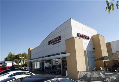 A Chipotle restaurant is pictured in Pasadena, California October 17, 2012. REUTERS/Mario Anzuoni