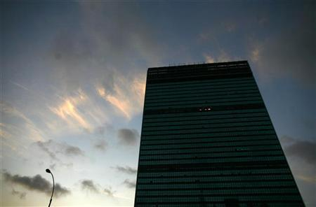 The United Nations headquarters building in New York September 22, 2010. REUTERS/Eric Thayer