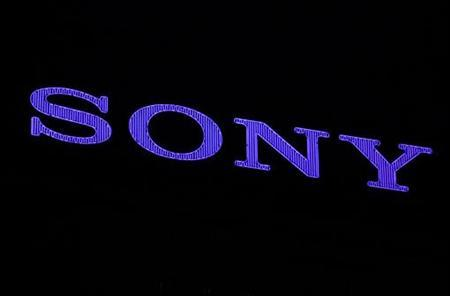 Sony Corp's logo is pictured at the company headquarters in Tokyo April 12, 2012. REUTERS/Yuriko Nakao