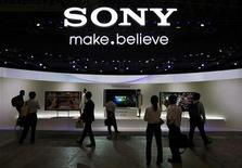 Sony vai cortar um quinto dos postos de trabalho em sua sede e fechar uma fábrica no Japão. 02/10/2012 REUTERS/Yuriko Nakao