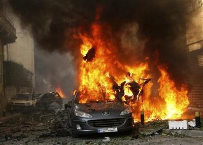 Beirut bomb kills anti-Syrian intelligence official