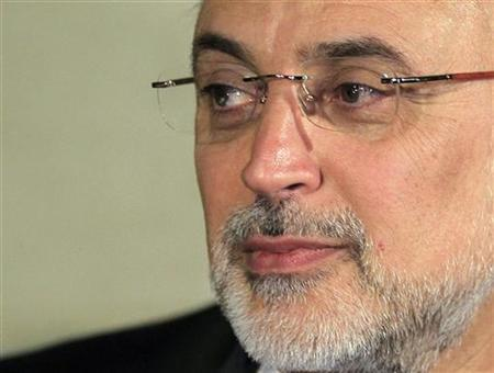 Iranian Foreign Minister Ali Akbar Salehi attends a news conference after a meeting regarding the Syrian crisis, in Cairo September 17, 2012. REUTERS/Mohamed Abd El Ghany