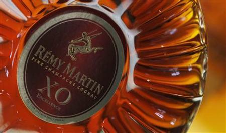 A bottle of ''XO'' (extra old) cognac is displayed at the Remy Martin distillery in Cognac, southwestern France, October 8, 2012. REUTERS/Regis Duvignau