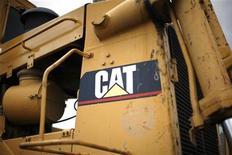 <p>Caterpillar, qui publie ses résultats trimestriels avant l'ouverture, à suivre lundi à Wall Street. /Photo d'archives/REUTERS/Rick Wilking</p>