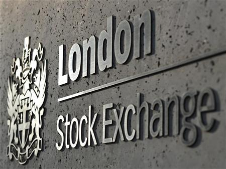 The London Stock Exchange is seen during ther morning rush hour in the City of London April 11, 2011. REUTERS/Toby Melville