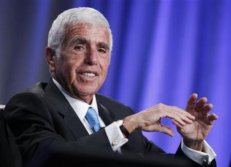 Mel Karmazin, CEO of Sirius XM Radio Inc., takes part in a panel discussion titled ''The Entertainment Industry: A Billion Ideas in Search of an Audience'' at the Milken Institute Global Conference in Beverly Hills, California May 2, 2012. REUTERS/Danny Moloshok