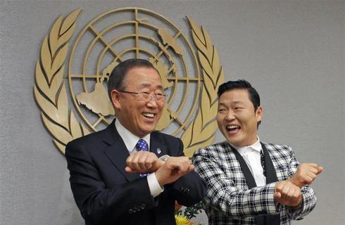 The U.N.'s Gangnam Style