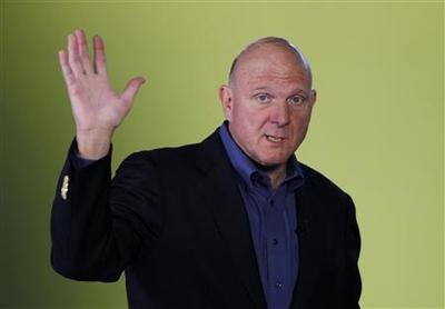 Windows 8 recasts PC industry: CEO Ballmer