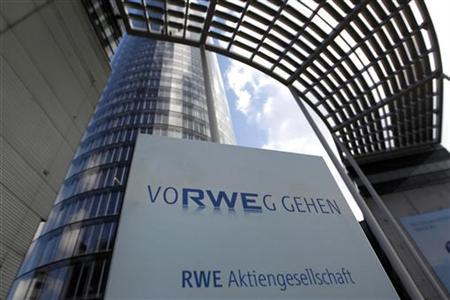 The headquarters of German power supplier RWE are pictured in the German town of Essen March 6, 2012. REUTERS/ Ina Fassbender