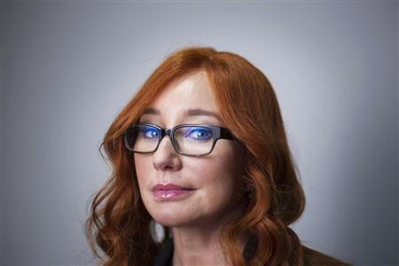 Singer Tori Amos poses for a portrait in New York, October 10, 2012.REUTERS/Lucas Jackson