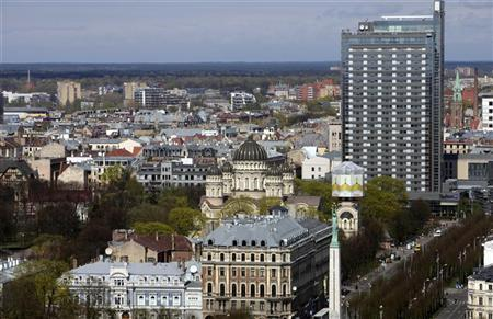 A general view of Riga May 4, 2011. REUTERS/Ints Kalnins