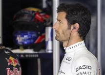 Mark Webber disse que não vai deixar o colega Sebastian Vettel vencer o GP da Índia. 06/10/2012. REUTERS/Kimimasa Mayama/Pool