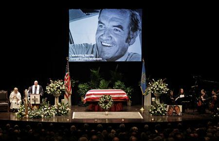 Former Senator McGovern remembered as passionate, principled