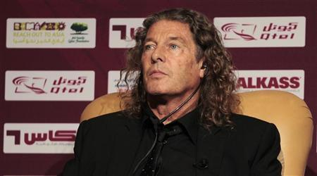 Bruno Metsu of France attends the launch party of the Qatar Soccer Stars League Season 2011/2012 in Doha September 15, 2011. REUTERS/Fadi Al-Assaad