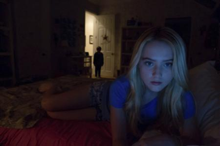 A scene from the new Paramount Pictures horror film ''Paranormal Activity 4'' is pictured in this undated publicity photograph. REUTERS/Dean Hendler/2012 Paramount Pictures/All Rights Reserved/Handout