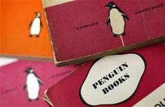 Penguin books are seen in a used bookshop in central London October 29, 2012. REUTERS/Stefan Wermuth