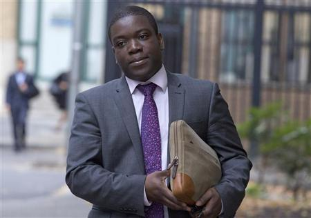 Former UBS trader Kweku Adoboli arrives at Southwark Crown Court in London September 21 , 2012. REUTERS/Neil Hall