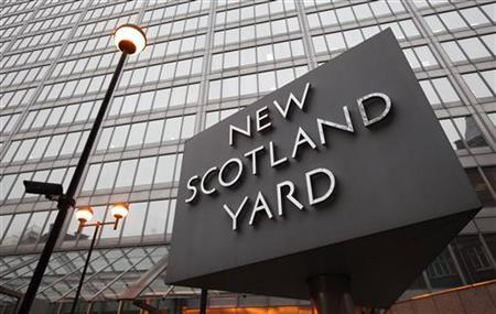 New Scotland Yard police headquarters is seen in London January 27, 2011. REUTERS/Suzanne Plunkett