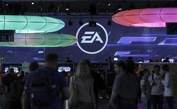<p>L'éditeur de jeux vidéos Electronic Arts Inc annonce un chiffre d'affaires en baisse au deuxième trimestre de son exercice. /Photo d'archives/REUTERS/Ina Fassbender</p>