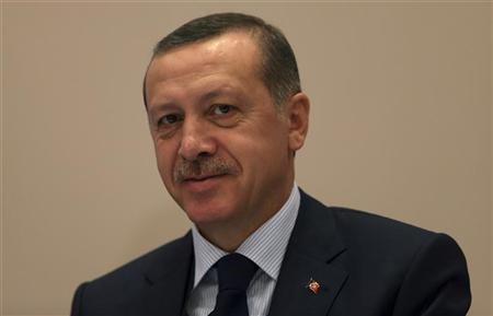 Turkey's Prime Minister Tayyip Erdogan attends the opening session of the 28th session of the COMCEC in Istanbul October 10, 2012. REUTERS/Murad Sezer