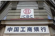 ICBC espera que as margens continuem a flutuar em torno dos níveis atuais. 18/01/2011. REUTERS/Charles Platiau