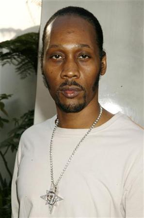 Actor and rapper RZA poses at the premiere of his comedy film ''Funny People'' in Hollywood July 20, 2009. REUTERS/Fred Prouser/Files