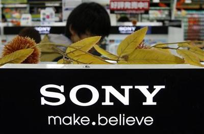 Sony posts small second-quarter profit, keeps full-yea...