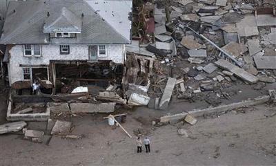 NJ power firm PSEG says Sandy severely damaged infrast...