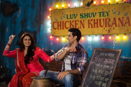 A still from ''Luv Shuv Tey Chicken Khurana''