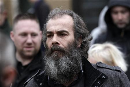 Colin Duffy leaves Antrim Courthouse in Antrim January 20, 2012. REUTERS/Cathal McNaughton