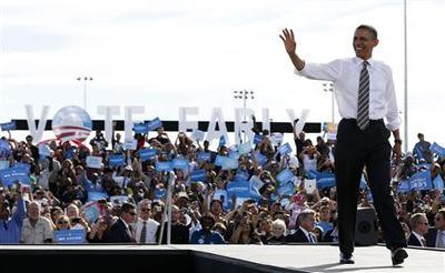 Obama, Romney take aim at key Midwestern swing states