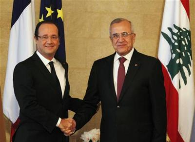France to oppose those creating instability in Lebanon...
