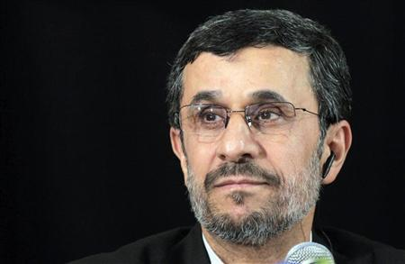 Iranian President Mahmoud Ahmadinejad attends a news conference on the sidelines of the 67th United Nations General Assembly in New York, September 26, 2012. REUTERS/Brendan McDermid