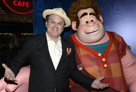 Cast member John C. Reilly attends the premiere of the animated film ''Wreck-It Ralph'' in Los Angeles October 29, 2012. REUTERS/Phil McCarten