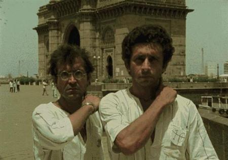 A handout photo of the movie 'Jaane Bhi Do Yaaro'