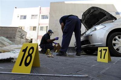 Five bomb blasts hit Bahrain capital, two killed