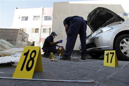 Five bomb blasts hit Bahrain capital, two killed