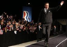 Candidato republicano Mitt Romney participou de evento de campanha na Pensilvânia. 04/11/2012. REUTERS/Jim Young