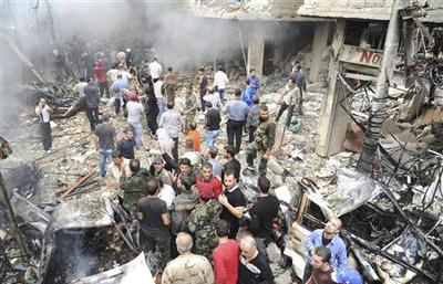Suicide bomber kills 50 Syrian security men: oppositio...