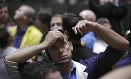 Un operatore a lavoro. REUTERS/John Gress
