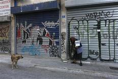 Retração na economia europeia se agravou no começo do quarto trimestre deste ano. 06/11/2012 REUTERS/Yorgos Karahalis