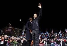 Presidente dos Estados Unidos Barack Obama encerrou sua campanha à reeleição em Des Moines, Iowa. 05/11/2012. REUTERS/Jason Reed