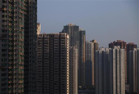A general view shows private housing in Hong Kong November 4, 2012. REUTERS/Tyrone Siu