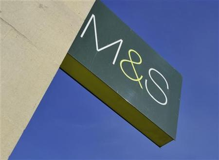 A branch of retail store Marks & Spencer is seen in central London April 6, 2011. REUTERS/Toby Melville