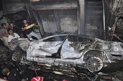 Bombings rock Damascus, brother of parliament speaker...