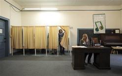 <p>A Cannon Falls, dans le Minnesota. Barack Obama est donné vainqueur dans le Minnesota, l'un des Etats pivots de l'élection présidentielle américaine, selon les estimations de la chaîne ABC, mardi. /Photo prise le 6 novembre 2012/REUTERS/Eric Miller</p>