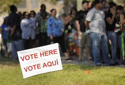 Complaints about voter IDs, ballots, long lines in...