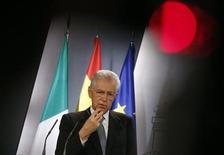 Il presidente del Consiglio Mario Monti. REUTERS/Andrea Comas