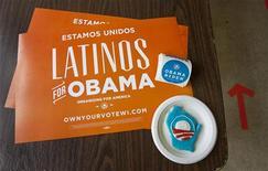 Voto hispânico ajudou a garantir o segundo mandato ao presidente dos Estados Unidos Barack Obama. 06/11/2012. REUTERS/Sara Stathas